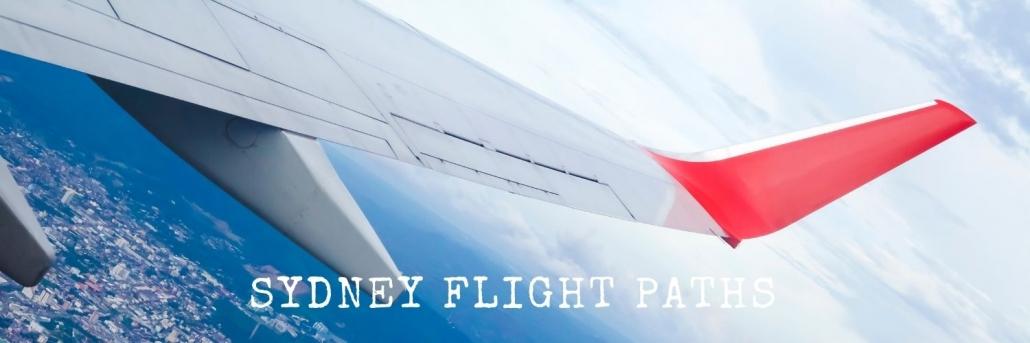 Sydney flight paths