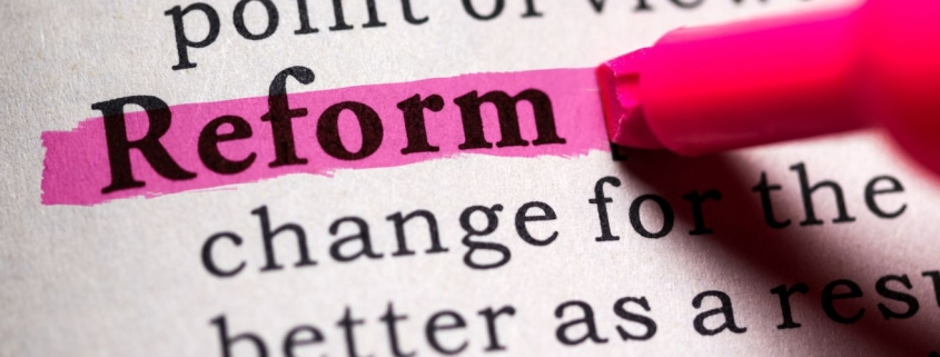 property industry reforms